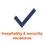 Vacatures hospitality security